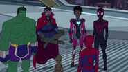 Spider-Man - 3x02 - Amazing Friends - Totally Awesome Hulk, Doctor Strange, Groot, Ironheart, Kid Arachnid and Spider-Man