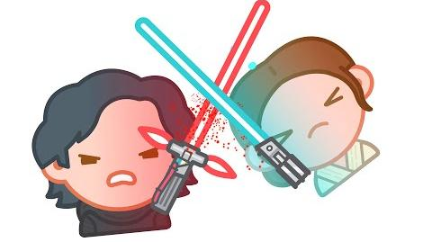 Star Wars The Force Awakens as told by Emoji Disney