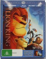 The Lion King 2011 AUS Blu Ray with Pillow Case