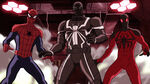 Ultimate Spider-Man - 4x06 - Double Agent Venom - Spider-Man, Agent Venom and Scarlet Spider