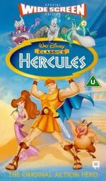 Disney Hercules - Special Widescreen Edition UK VHS (1998)