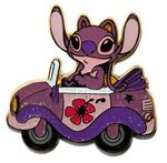 HKDL mystery car tin collection angel disney pin