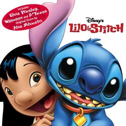 Lilo & Stitch (soundtrack album - cover art)