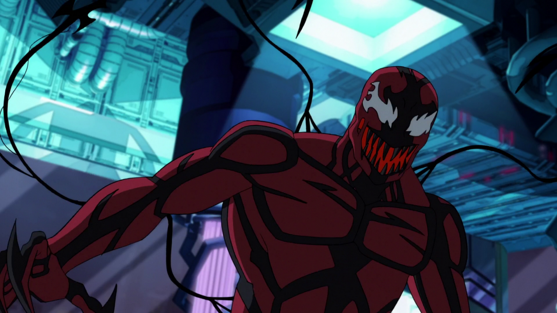 spider man 4 carnage vs venom