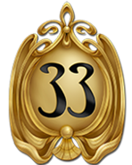 DL Club 33 Golden Logo