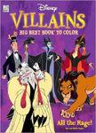 Disney Villains Big Best Book to Color