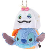 Halloween Scrump and Stitch Tsum Tsum Keychain