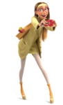 Honey Lemon selfie render