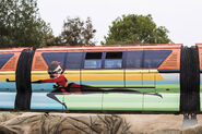 Incredibles Themed Monorail 01