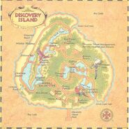 Map of Discovery Island