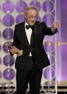 Steven Spielberg at Golden Globe Awards