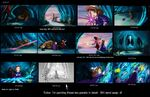 The Princess and the Protector storyboard 7