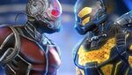 Ant Man vs Yellowjacket