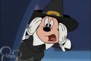 Horrified Mickey