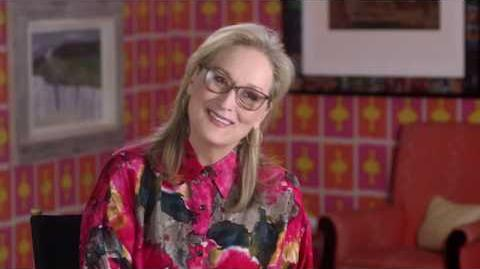 MARY POPPINS RETURNS Meryl Streep Behind The Scenes Interview