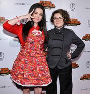Merit & Marlowe at My Hero Academia premiere