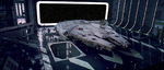 Millennium Falcon in A New Hope 1