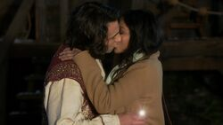 Once Upon a Time - 6x15 - A Wondrous Place - Aladdin and Jasmine Kiss