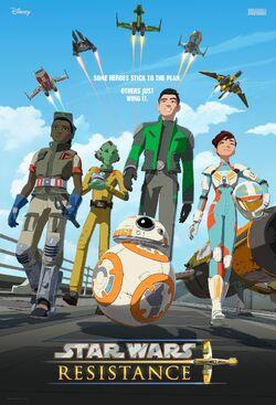 Star Wars Resistance poster