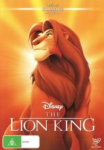 The Lion King AU Classics DVD