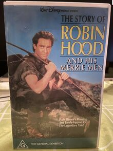 The Story of Robin Hood 1991 Australian VHS
