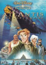 Atlantis- The Lost Empire 2002 AUS DVD
