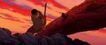 Brother Bear- Denahi attempting to destroy the log bridge
