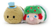 Ghost of Christmas Past and Ghost of Christmas Present Tsum Tsum Mini