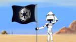 Stormtroopercandacewithimperialflag