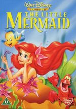 The Little Mermaid 2000 UK DVD