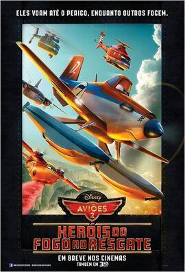 Aviões 2 - Pôster Nacional