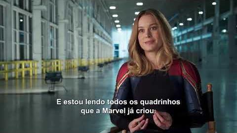 Capitã Marvel - Bastidores do filme