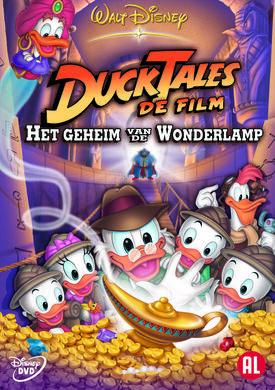 DT Cover Ducktales de film het geheim van de wonderlamp