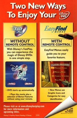 Disney FastPlay ad