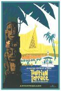 Hong Kong Tahitian Terrace Poster