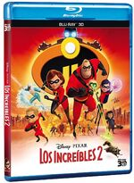 Incredibles 2 Blu-ray 3D México
