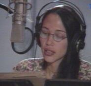 Irene Bedard behind the scenes Pocahontas