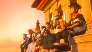 KHIII - Twilight kids watching sunset
