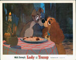 Lady and the tramp lobby card