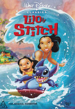 Lilo & Stitch 2003 AUS DVD