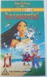 Pocahontas 2003 AUS VHS