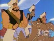 Razoul ride a Camel feeling hot