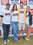 Ritter fam attending 30th AIDS Walk