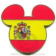Spain Disney Pin