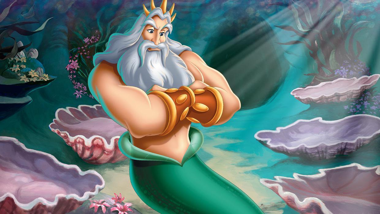 Mermaid with a trident — Stock Photo © FairytaleDesign #123172052