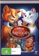 The Aristocats 2012 AUS DVD