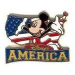 America Mickey Pin