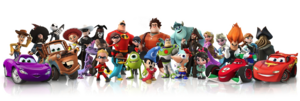 DisneyINFINITY personajes-jugables