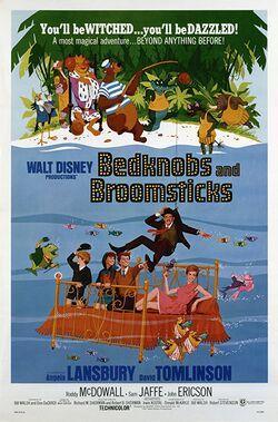 Disney Bedknobs and Broomsticks Original 1971 Poster