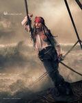 Disney Dream Portrait Series - Jack Sparrow - Where Magic Sets Sail...